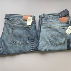 Two pairs of Lucky Brand Jeans
